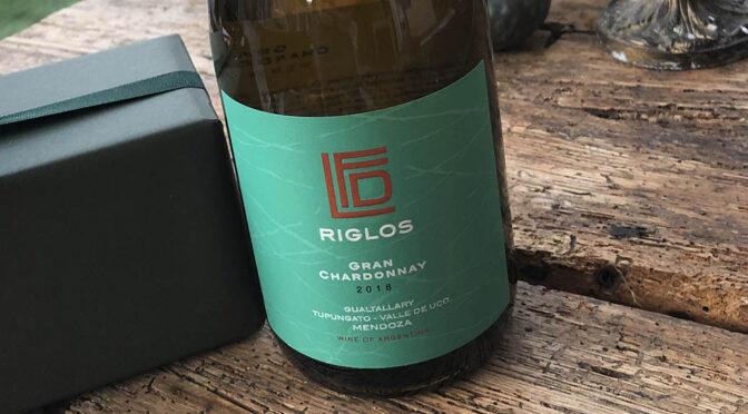 2018 Riglos Wines, Gran Chardonnay, Mendoza, Argentina