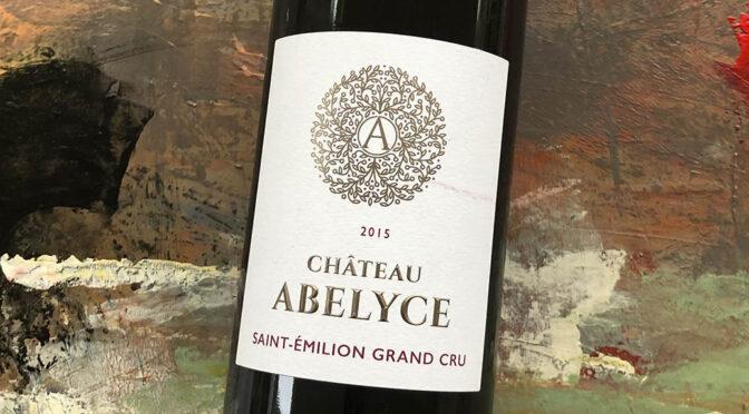 2015 Château Abelyce, St. Emillion Grand Cru, Bordeaux, Frankrig