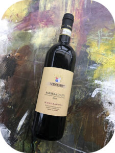 2019 Vinory, Barbera d'Asti Mandragola, Piemonte, Italien
