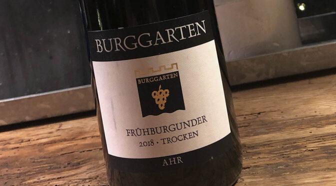 2018 Weingut Burggarten, Frühburgunder Trocken, Ahr, Tyskland