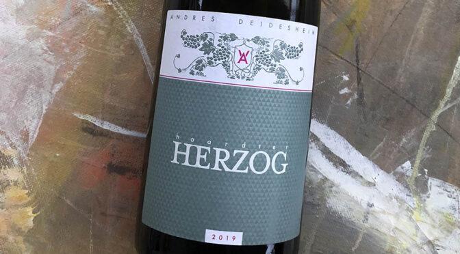 2019 Weingut Andres, Haardter Herzog Chardonnay, Pfalz, Tyskland