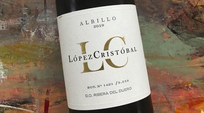 2019 Bodegas López Cristobal, Albillo, Ribera del Duero, Spanien