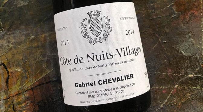 2014 Gabriel Chevalier, Côte de Nuits-Villages, Bourgogne, Frankrig