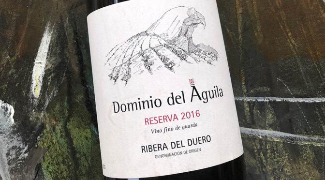 2016 Dominio del Àguila, Reserva, Ribera del Duero, Spanien