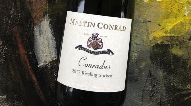 2017 Weingut Martin Conrad, Conradus Riesling Trocken, Mosel, Tyskland