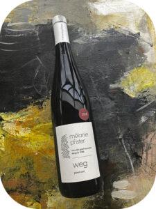 2018 Mélanie Pfister, Pinot Noir Weg, Alsace, Frankrig
