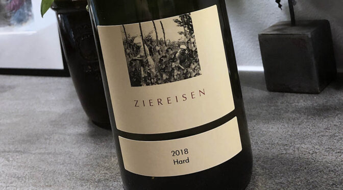 2018 Weingut Ziereisen, Hard Chardonnay, Baden, Tyskland