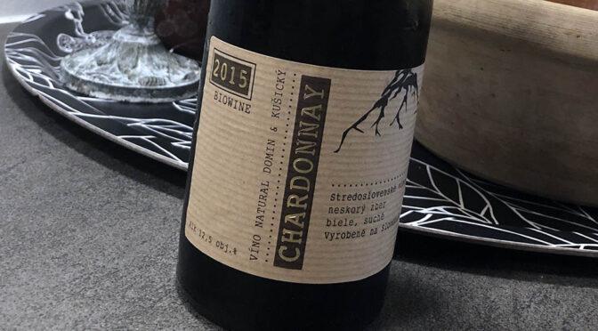 2015 Domin & Kušický, Chardonnay, Stredoslovenská, Slovakiet