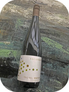 2015 Rock Ferry Wines, Trig Hill Vineyards Riesling, Central Otago, New Zealand