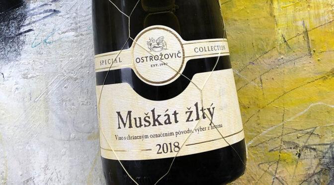 2018 Ostrožovič, Muškát Žltý Special Collection, Tokajská, Slovakiet