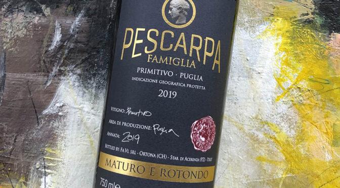 2019 Farnese Vini, Pescarpa Famiglia Primitivo, Puglia, Italien