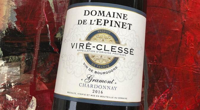 2016 Domaine de l'Epinet, Viré-Clessé Gramont Chardonnay, Bourgogne, Frankrig