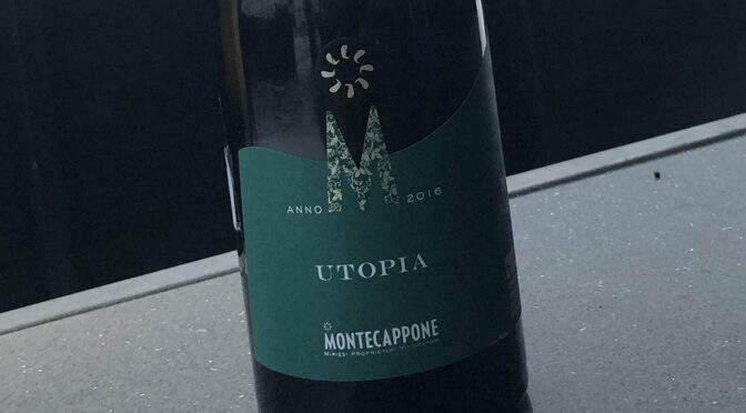 2016 Montecappone, Utopia Verdicchio Classico Riserva, Marche, Italien