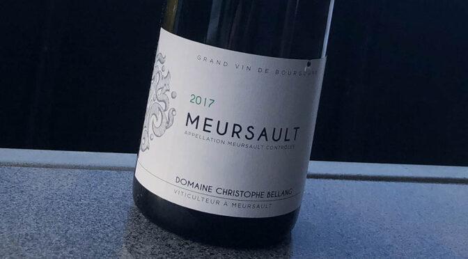 2017 Domaine Christian Bellang & Fils, Meursault, Bourgogne, Frankrig