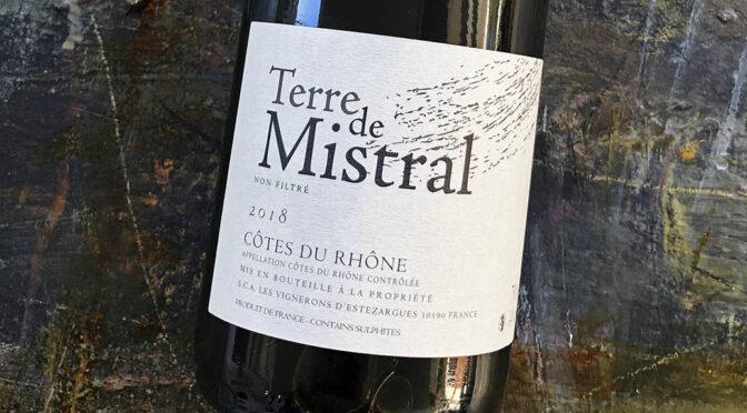 2018 Les Vignerons d'Estézargues, Terre de Mistral Côtes du Rhône, Rhône, Frankrig