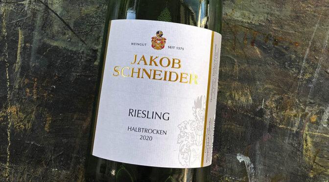 2020 Weingut Jakob Schneider, Riesling Halbtrocken 1 liter, Nahe, Tyskland