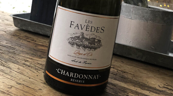 2020 Les Vignerons du Narbonnais, Les Favèdes Chardonnay Réserve Pays d'Oc, Languedoc, Frankrig