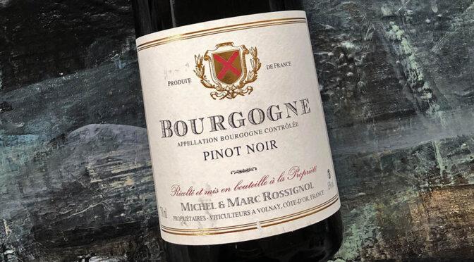 2017 Domaine Michel & Marc Rossignol, Bourgogne Pinot Noir, Bourgogne, Frankrig