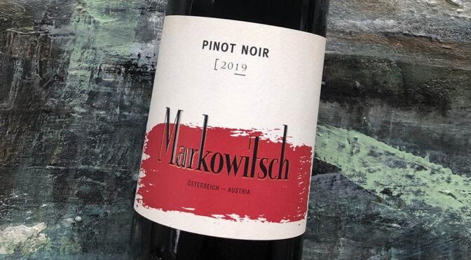 2019 Weingut Markowitsch, Pinot Noir, Carnuntum, Østrig