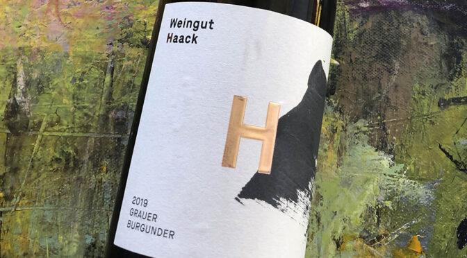 2019 Weingut Haack, Grauer Burgunder, Nahe, Tyskland