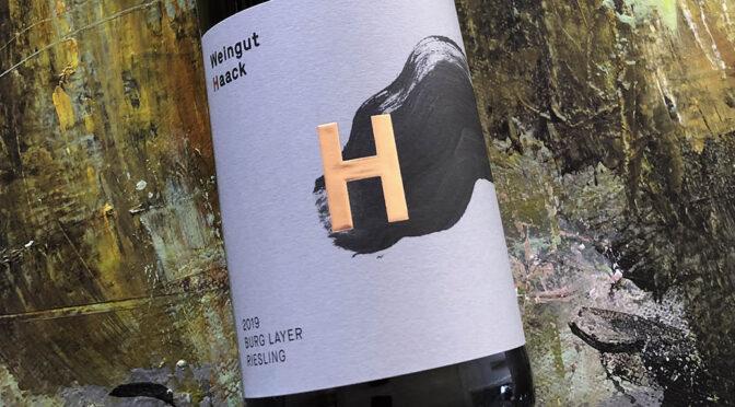 2019 Weingut Haack, Burg Layer Riesling, Nahe, Tyskland