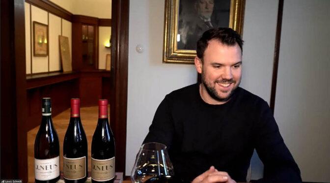 Mr Rubys online vinsmagning med Lewis Schmitt fra Weingut J. Neus