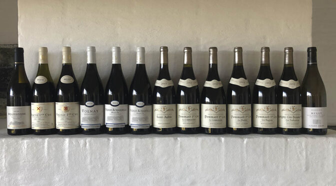 Houlberg tester en hel røvfuld bourgogne vine