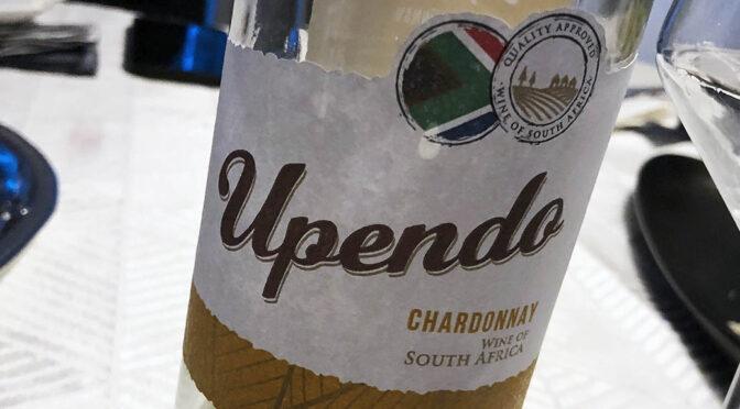 2020 Globus Wine, Upendo Chardonnay, Western Cape, Sydafrika