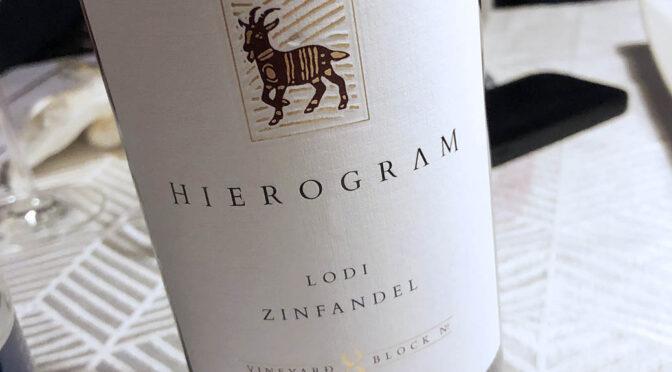 2018 Precision Wine, Hierogram Zinfandel, Californien, USA