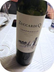2014 Familia Zuccardi, Zuccardi Q Tempranillo, Mendozo, Argentina