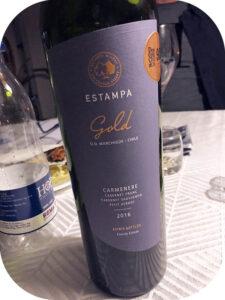 2016 Viña Estampa, Estampa Gold Carménère, Colchagua Valley, Chile