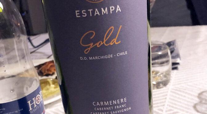 2016 Viña Estampa, Estampa Gold Carménère, Colchagua, Chile