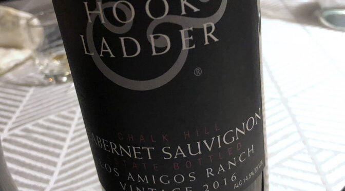 2016 Hook & Ladder Winery, Los Amigos Ranch Cabernet Sauvignon, Californien, USA