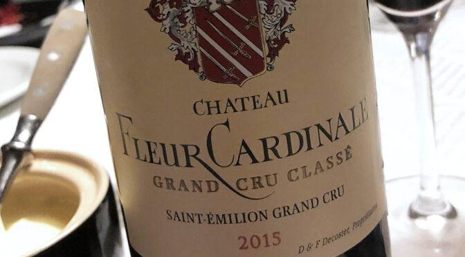 2015 Château Fleur Cardinale, Saint-Èmilion Grand Cru Classé, Bordeaux, Frankrig