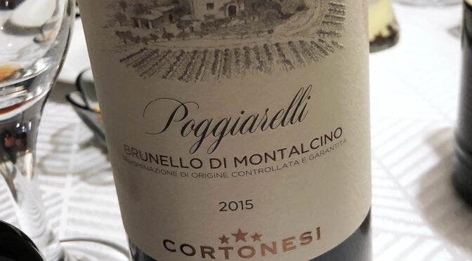 2015 Cortonesi, Brunello di Montalcino Poggiarelli, Toscana, Italien