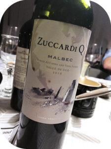 2016 Familia Zuccardi, Zuccardi Q Malbec, Mendoza, Argentina