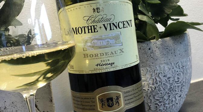2019 Château Lamothe-Vincent, Heritage Blanc, Bordeaux, Frankrig