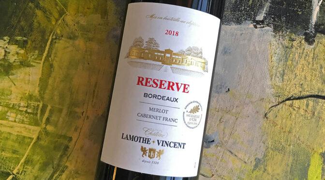 2018 Château Lamothe-Vincent, Bordeaux Reserve, Bordeaux, Frankrig