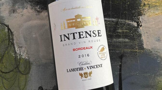 2016 Château Lamothe-Vincent, Intense, Bordeaux, Frankrig