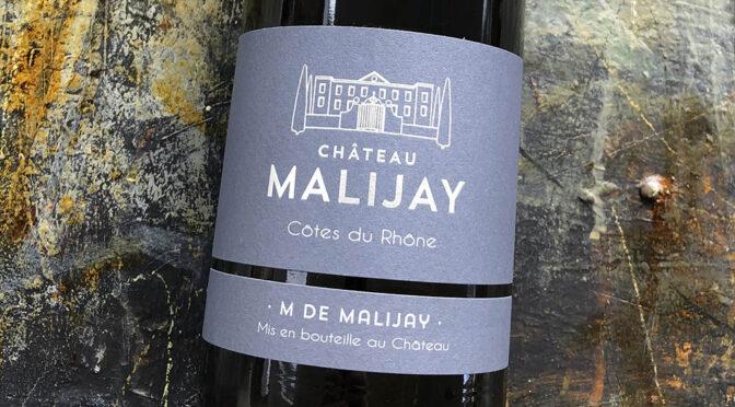 2019 Château Malijay, M de Malijay Côtes du Rhône, Rhône, Frankrig