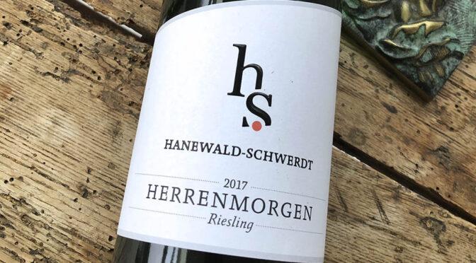 2017 Weingut Hanewald-Schwerdt, Leistadter Herrenmorgen Riesling, Pfalz, Tyskland