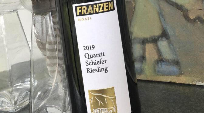 2019 Weingut Franzen, Quarzit Schiefer Riesling, Mosel, Tyskland