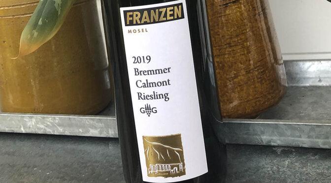 2019 Weingut Franzen, Bremmer Calmont Riesling GG, Mosel, Tyskland