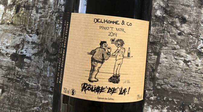 2019 Domaine Delhomme & Co, Rouge de la Pinot Noir, Bourgogne, Frankrig