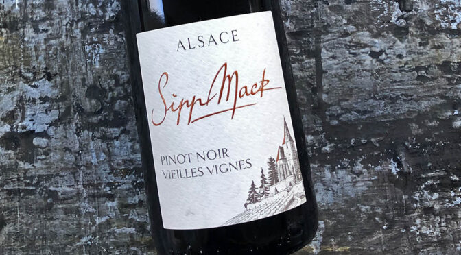 2018 Domaine Sipp Mack, Pinot Noir Vieilles Vignes, Alsace, Frankrig