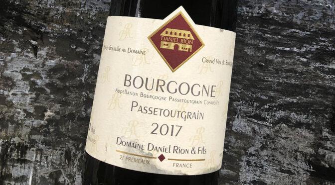2017 Domaine Daniel Rion & Fils, Bourgogne Passetoutgrain, Bourgogne, Frankrig