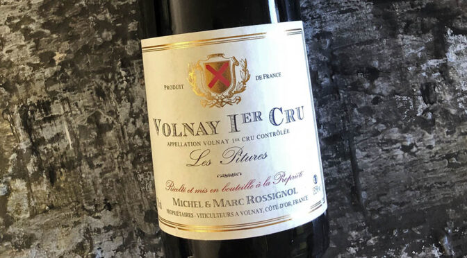 2017 Domaine Michel & Marc Rossignol, Volnay 1er Cru Les Pitures, Bourgogne, Frankrig