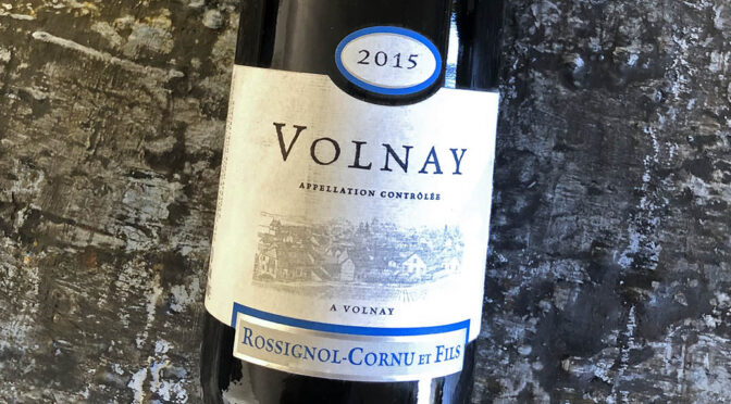 2015 Domaine Rossignol-Cornu et Fils, Volnay, Bourgogne, Frankrig
