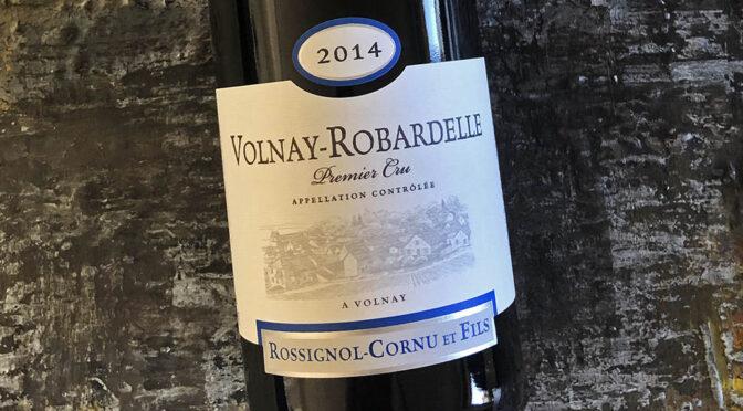 2014 Domaine Rossignol-Cornu et Fils, Volnay 1er Cru Robardselles, Bourgogne, Frankrig