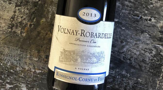 2013 Domaine Rossignol-Cornu et Fils, Volnay 1er Cru Robardselles, Bourgogne, Frankrig
